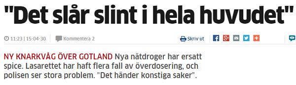 Faksimil Fran Hela Gotland